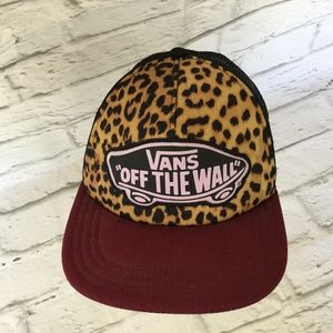 67164840 Vans Accessories | Nwot Off The Wall Foam Mesh Hat Cap | Poshmark